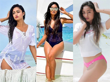 Tridha Choudhury in Bikini Photos
