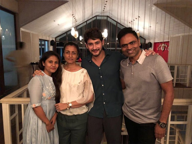 Mahesh Babu Birth Day Bash In Goa Photos