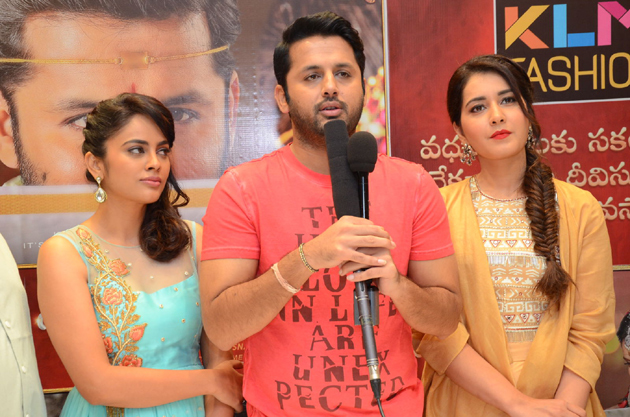 Srinivasa Kalyanam Team at KLM Fashion Mall Photos