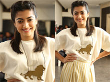 Rashmika Mandanna At Devada Pre Release Press meet