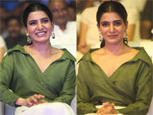 Samantha at Devadas Music Party Photos