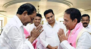 TRS leader Suresh Reddy name surfaces in Congress office-bearers list
