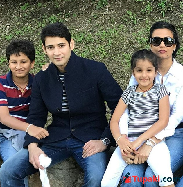 Mahesh Babu With His Family Photos Photogallery Page 1