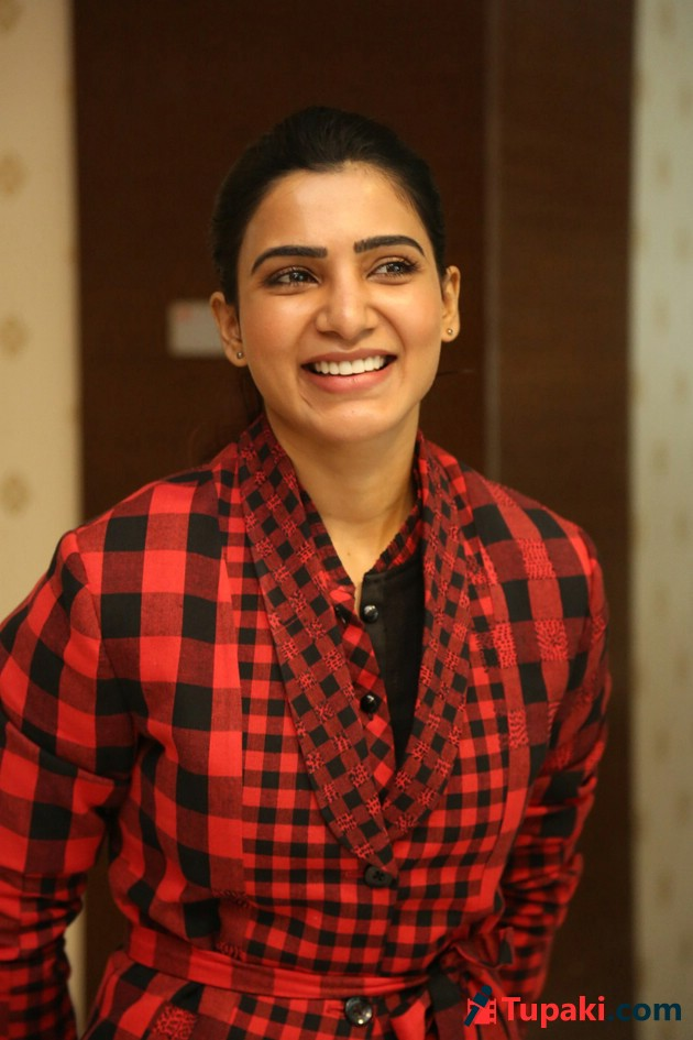 Samantha At U Turn Press Meet
