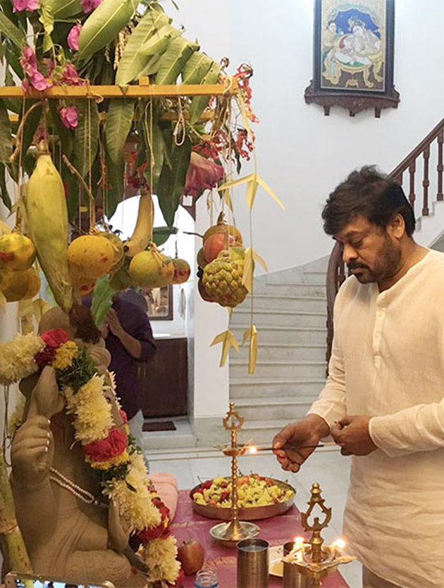 Celebs Celebrates Vinayaka Chavithi Photos