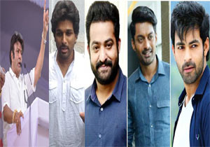 Celebrities of the Telugu film industry extend support after Cyclone Titli Victims