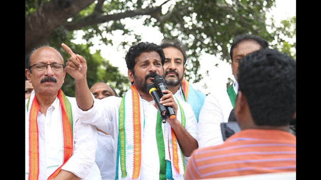 Revanth Reddy Slams KCR over KTR wife Father Issue