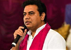 KTR Says Not Congress Our Target is TDP