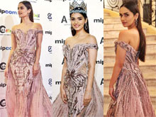 Manushi Chillar at Cannes Fashion Photos