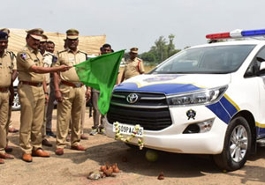 New latest Vehicles for Telangana Police