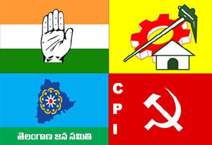 Only 22 Seats for TDP, TJS and CPI In Mahakutami