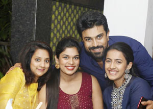 Ram Charan With His Sisters