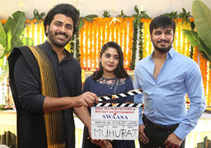 Swasa Movie Opening Photos