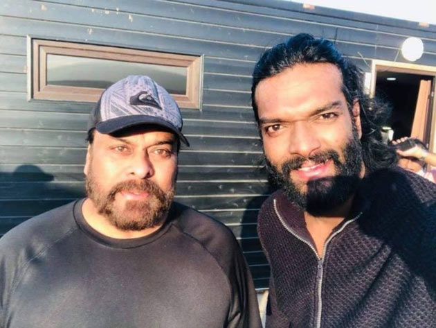 Chiranjeevi Sye Raa Movie Onlocation Stills