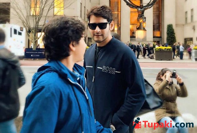 Mahesh Babu Maharshi Team Shooting At USA Photos