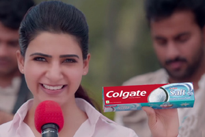 Samantha Is Questioning About Toothpaste