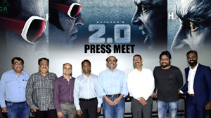 Some Media Persons Not Attend For 2.0 Projection Show In Hyderabad