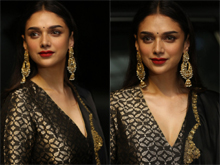 Aditi Rao Hydari At Antariksham Movie Pre Release Event