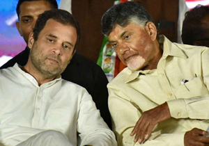 Chandrababu Naidu Manage Funds for Congress Party