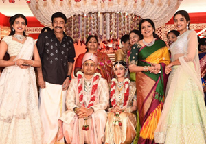 Dr.Rajasekhar Nephew Karthik wedding Photos