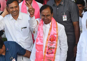 Huge MLAs Join TRS After Win Telangana Elections