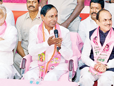 KCR Inducted Three Women Ministers In His Cabinet
