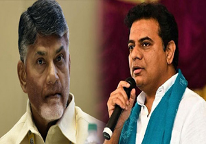 KTR COmments on ChandrababU Naidu over Andhra Special Status