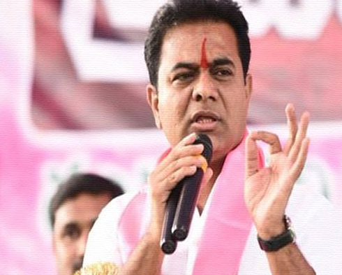 KTR Counter To Media During His Press Confirence