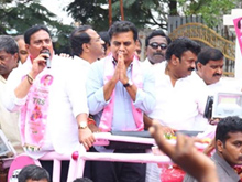 KTR Taking Charge As TRS party Working PResident