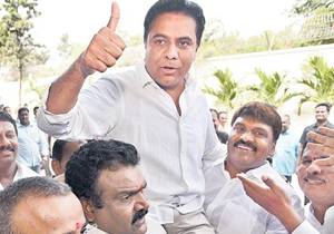 Telugu Film Industry Gives More important to KTR