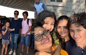 Mahesh Family Went For Shirdi