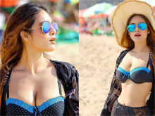 Neha Malik Goa Bikini Photo Shoot
