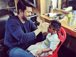 Ram Charan Turns Mama for Sneha Son