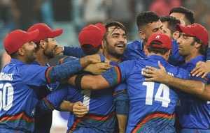 Afghanistan Set New T20 Record Against Ireland