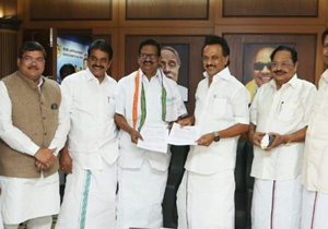 DMK And Congress Seat Sharing in Lok sabha Elections