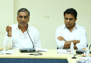 Harish Rao and KTR Chambers in Telangana secretariat