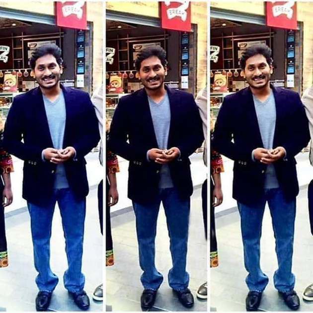 YS Jagan Thrilled His Fans By Appearing In A Stylish Avatar In