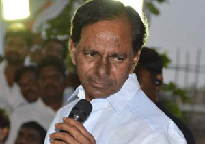 KCR Targets Congress Party In MLC Elections