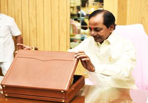 KCR Vote on Account budget Peresentation