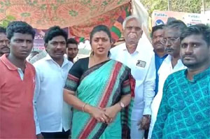 MLA Roja Fires On Chintamaneni Controversial Comments Over Dalits