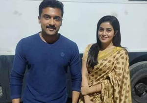 Poorna joins Suriya And KV Anand Kaappaan