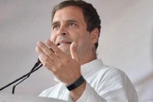 Rahul Gandhi To Hit Narendra Modi From Tirupathi Today