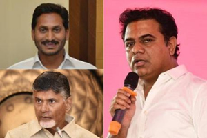 TRS working president KTR predicts YSRCP victory in AP elections