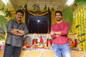 Venkatesh joins Venky Mama Movie Shooting
