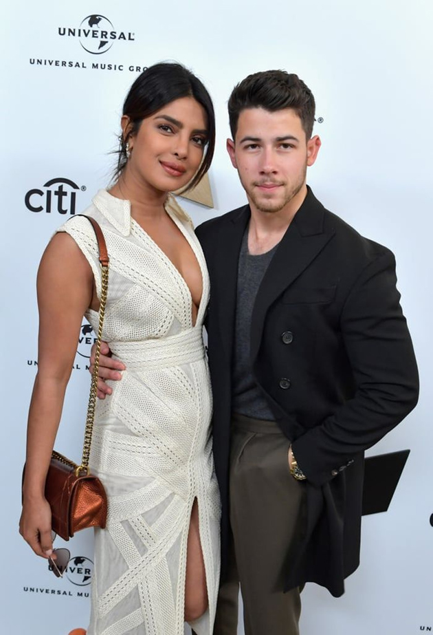 Priyanka Chopra stuns at Grammy Awards