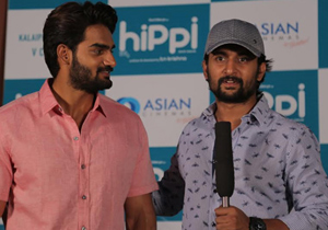 HIPPI Movie Teaser Launch Photos