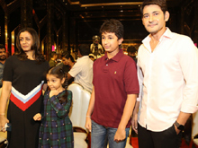 Mahesh Babu Madame Tussads Wax Statue Launch Photos