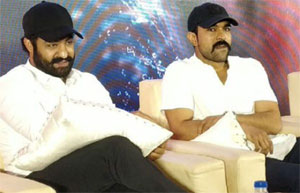 Ram Charan And jr NTR Goes Pune For RRR Shooting