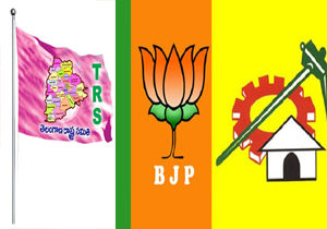 TRS TDP And BJP Parties Not Release MP Candidates List For Lok Sabha Elections