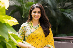 Two Roles For Keerthy Debut